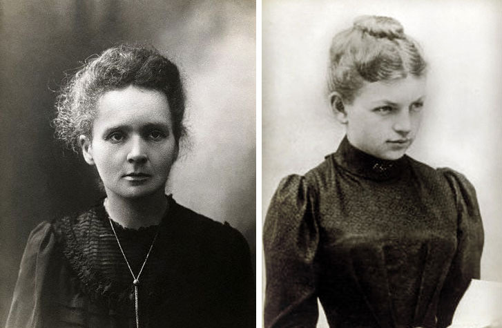 Marie Curie and Clara Immerwahr